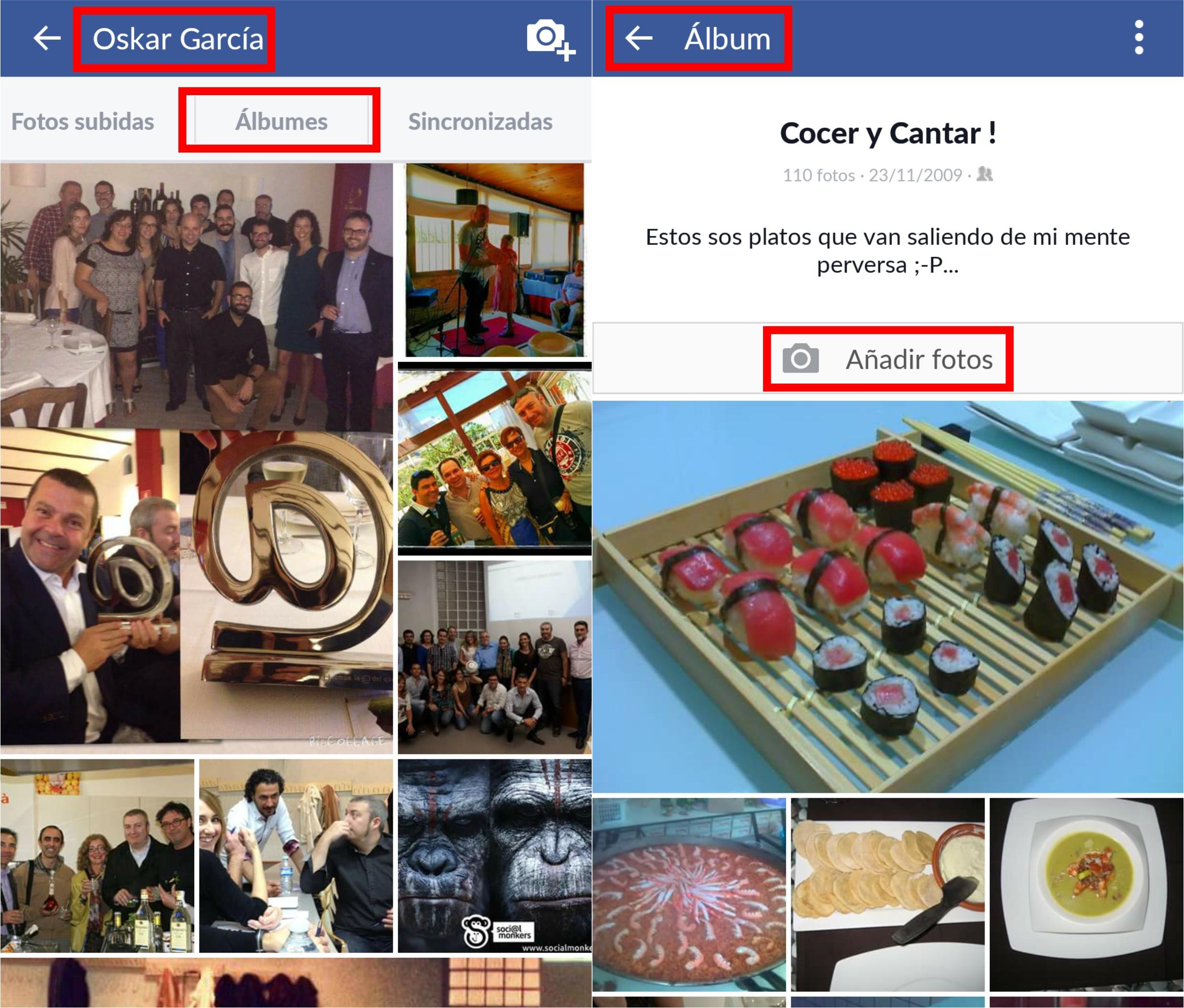 Cómo incluir varias imágenes a la vez en una publicación de Facebook ...