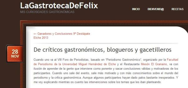 La Gastroteca de Félix Cardona