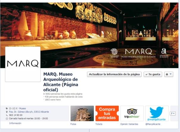 MARQ en facebook