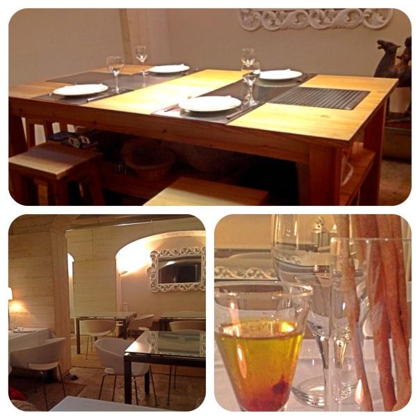 Social Table, Cocorocó y Aceite con grissinis de bienvenida