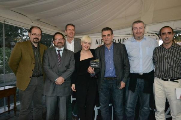 Foto de participantes en la mesa redonda