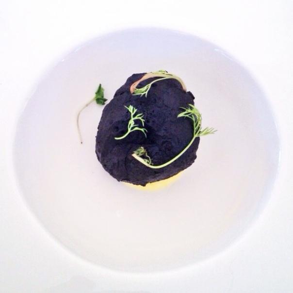 Roca negra de bacalao