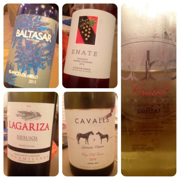 Baltasar Gracián, Lagariza, Enate Rosado y Cristal·li