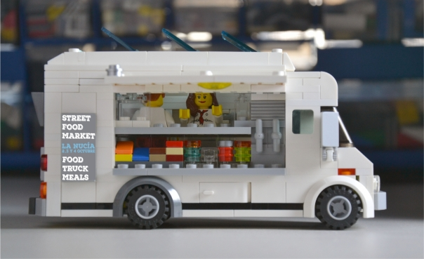Lego foodtruck