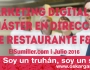 Marketing Digital en el Máster en Dirección de Restaurante F&B | Elsumiller.com julio 2016